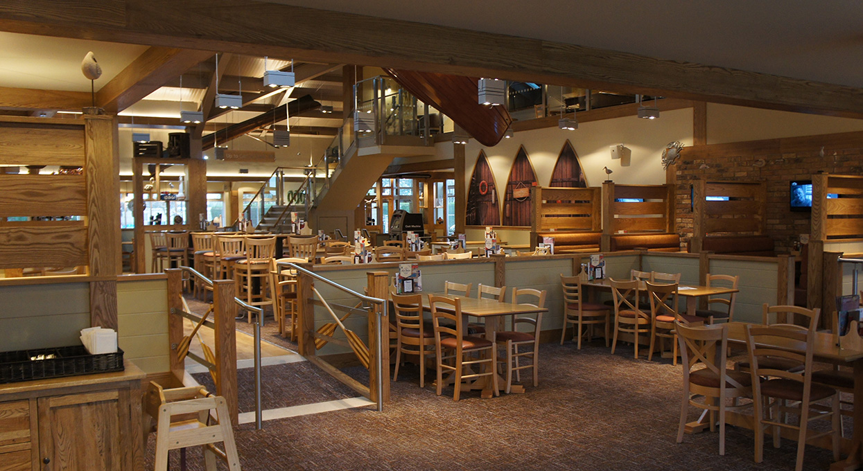 Interior Shot Of The Boathouse Southview