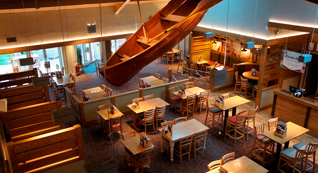 Interior shot of The Boathouse, Southview