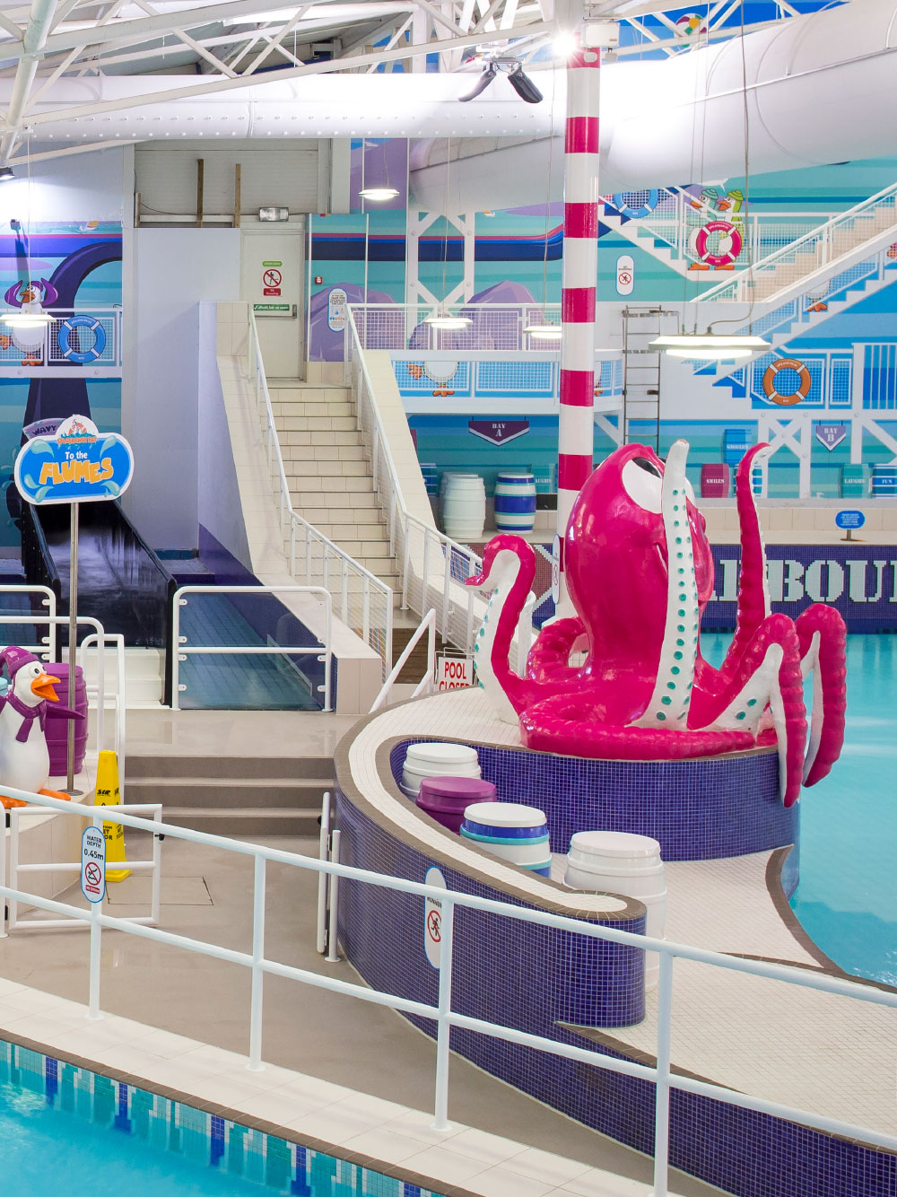 Octopus feature in Splashaway Bay