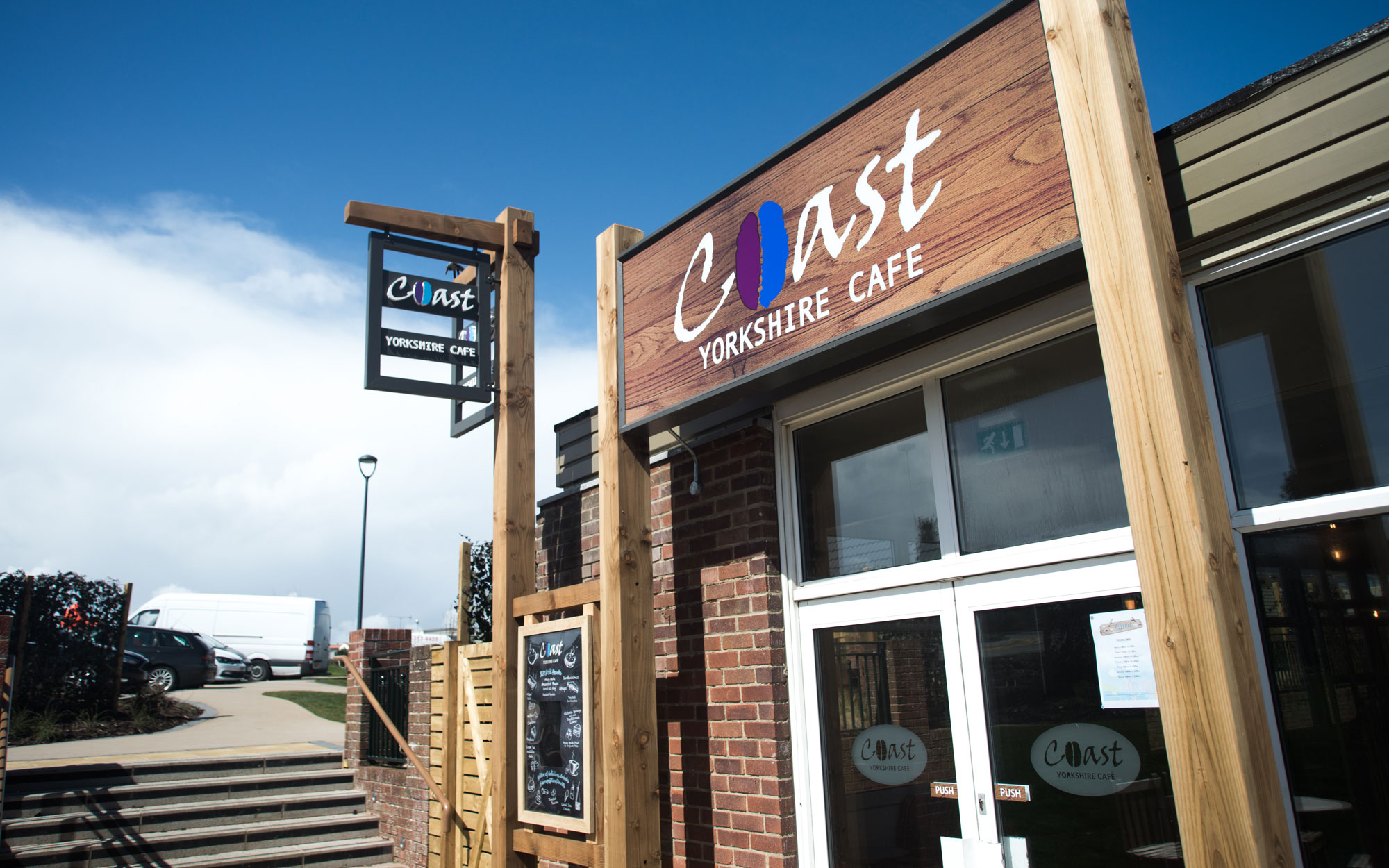 Coast Cafe at Thornwick Bay
